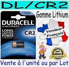 Piles DURACELL TYPE DLCR2 CR2 - Dispo aussi : CR2016 CR2025 CR2032 CR2430 CR2450