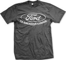 Ford An American Classic Cars Trucks Built Tough Motor Company Mens T-shirt