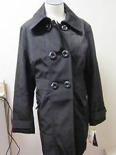 Jones New York Double Breasted Raincoat M NWT