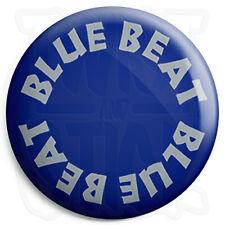 Blue Beat Records - 25mm Skinhead Ska Reggae Button Badge, Fridge Magnet Option