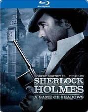 Sherlock Holmes: A Game of Shadows - blu ray steel book ***BRAND New***