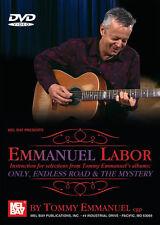 EMMANUEL LABOR TOMMY EMMANUEL GUITAR DVD NEW