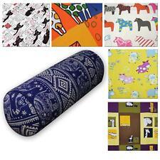 Bolster Cover*Kid's Cotton Canvas Neck Roll Tube Yoga Massage Pillow Case*AL9