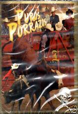 PUROS PORRAZOS/ JINETES VALIENTE TOROS BRAVOS  BRAND NEW SEALED   DVD