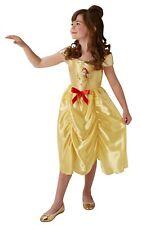 Childs Disney Fairytale Princess Belle Fancy Dress Costume