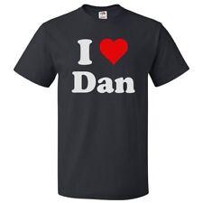 I Love Dan T shirt I Heart Dan Tee