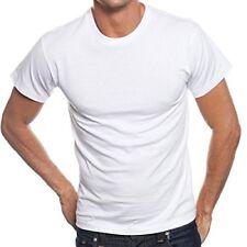 10 X Mens Plain 100%Cotton Blank T-shirt WHITE 2XL Bulk Cheap  AU stock