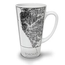 Canada Toronto City NEW White Tea Coffee Latte Mug 12 17 oz   Wellcoda