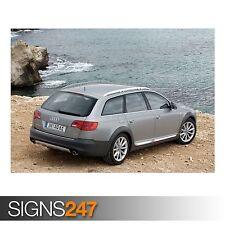 AUDI A6 ALLROAD 4.2 QUATTRO (AC990) CAR POSTER - Poster Print Art A0 A1 A2 A3