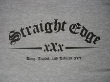 STRAIGHT EDGE T-Shirt xXx sXe, hardcore punk dare