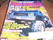 Four Wheeler Aug 1998 Low-Buck Supertrucks