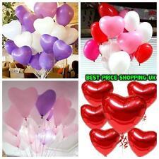 100 Globos Mix Love & Corazón Boda Fiesta romántico Ballon día de San Valentín Cumpleaños