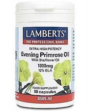 Lamberts Evening Primrose + Starflower oil  1000mg (High potency GLA)