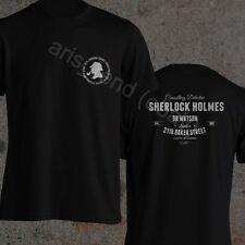 Sherlock Holmes T-Shirt Dr Watson Consulting Detective 221B Baker Street T-Shirt