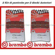 Pastillas Brembo Racing Ant. (2 kit) Honda CBR 600/1000 RR incluso ABS 07HO50SC