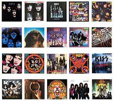 Miniatura 1/12 no jugable Álbum Lp-Kiss-varios títulos Rock Metal
