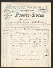 """PANISSIERES (42) USINE de LINGES DE TABLE """"PIQUET - LOIRE"""" en 1900"""