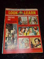 LOOK & LEARN - No 206 - Date 25/12/1965 - UK PAPER COMIC