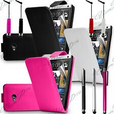 Accessoires Etui Coque Housses Pochette Simili Cuir Rabattable Stylet HTC One M7