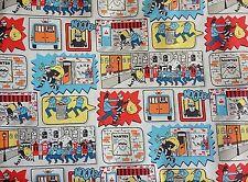 Cath Kidston, Stop Thief, 100% Cotton Duck Fabric per metre