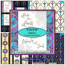 Angel Jesus religious spiritual cotton quilting fabric *Choose design