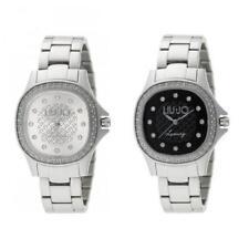 Orologio Donna LIU JO Luxury MAYA Bracciale Acciaio Silver Swarovski New