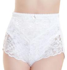 Ladies Medium Tummy Tuck Control Lace Body Bum Lift Shape Wear Briefs Knickers