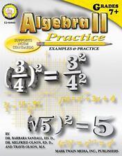 Algebra II Practice for Middle/Upper Grades by Mark Twain Media, Inc