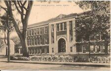 Morse High School Bath ME Postcard