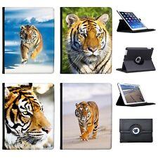 Azzumo Wild Tiger Faux Leather Case Cover / Folio for the Apple iPad
