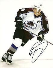 Joe Sakic Hand Signed 8x10 Photo Nordiques Avalanche NHL