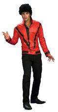 Michael Jackson Red Thriller Jacket Adult Mens Costume Fancy Dress Up,