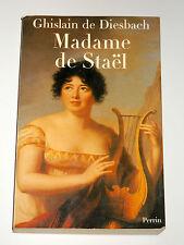 Madame de Staël 1766-1817 Ecrivain Romantisme Genève Necker Benjamin Constant