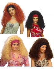 Parrucca riccia Ramona accessori per travestimento costume carnevale *19726