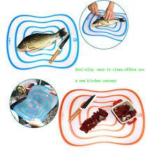 Flexible Ultra-thin Fruit Vegetable Cutting Chopping Board Antibacteria Mat Nice