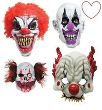 Scary Böser Clown Masken Perücke Halloween Horror Latex Kostüm Kostüm