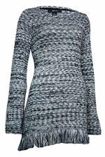 Style & Co. Women's Marled Fringe Sweater