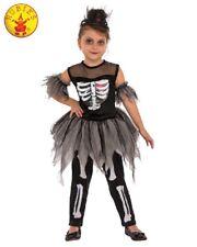 RD Girls Costume Fancy Dress Halloween Scary - ballerina  SKELERINA 630923