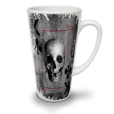 Poker Card Play Skull NEW White Tea Coffee Latte Mug 12 17 oz   Wellcoda