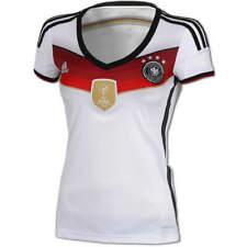 adidas Damen Fußball DFB Trikot Deutschland WM 4 Sterne FIFA Weltmeister Badge