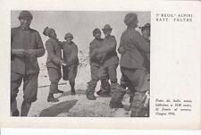 7326) WW1, 7 REGGIMENTO ALPINI BATTAGLIONE FELTRE, FESTA DA BALLO SULLA NEVE.