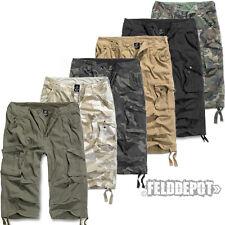 Brandit Urban Legend 3/4 Trousers Bermuda Pants Cargo Shorts Vintage