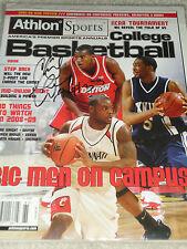 Chris Wright Signed Dayton Flyers Basketball Athlon Magazine PROOF AUTOGRAPH UD