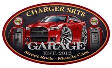 2012-14 Dodge Charger SRT8 GARAGE SIGN Wall Art Graphic Sticker