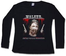 DEAD TEXAS RANGER DAMEN LANGARM T-SHIRT Chuck Daryl Dixon The Walking Norris