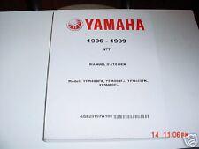 OEM YAMAHA VTT ATV FRENCH SERVICE MANUAL YMF400 96-99