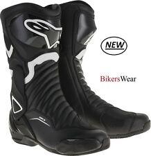 Alpinestars SMX S-MX 6 V2 Drystar Motorcycle Racing&Sport Boots-Waterproof ZQ