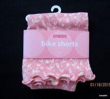 Gymboree Aloha Wahine  Coral Cream Flowers Bike Shorts 3-3T-3-6 NWT New
