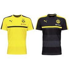 Puma BVB Borussia Dortmund Trainingstrikot Trainingsshirt gelb schwarz 2016 2017