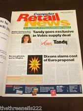 COMPUTER RETAIL NEWS - TANDY & VORBIS - SEPT 23 1996